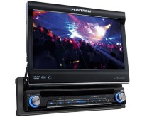 "DVD Player Automotivo Pósitron Tela TouchScreen 7 "" USB SP6110 AV"