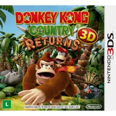 Foto Jogo Donkey Kong Country Returns 3D Nintendo 3DS