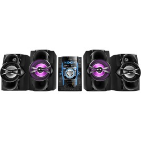 Mini System Philips FWT6600X 1.000 Watts Karaokê USB Ripping
