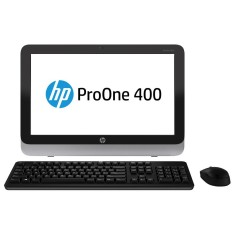 Foto All in One HP ProOne 400 Intel Core i3 4160T 4 GB 500 Windows 10 4ª Geração