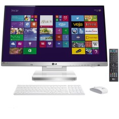 Foto All in One LG 27V745-G.BK33P1 Intel Core i5 4200M 4 GB 1 TB Windows 8.1 27""