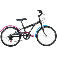 Foto Bicicleta Caloi Monster High 7 Marchas Aro 20 Freio V-Brake