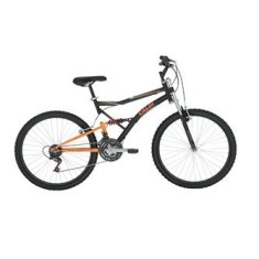 Foto Bicicleta Mountain Bike Caloi 21 Marchas Aro 26 Suspensão Full Suspension Freio V-Brake XRT