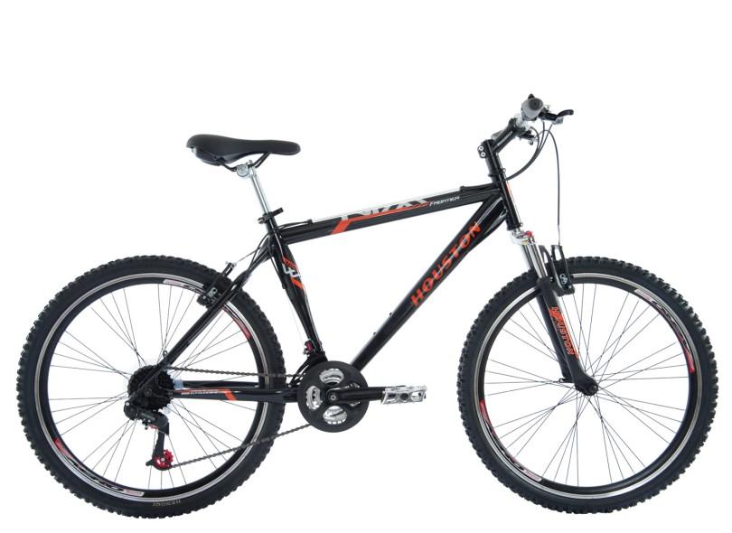 Bicicleta Mountain Bike Houston Aro 26 21 Marchas Suspensao