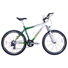 Foto Bicicleta Mountain Bike Houston 21 Marchas Aro 26 Suspensão Dianteira Mercury HT