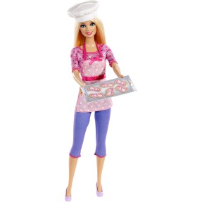 Foto Boneca Barbie Chef de Cookies Mattel