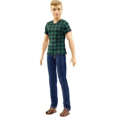 Foto Boneca Barbie Fashionistas Ken Checked Style Mattel