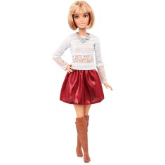 Foto Boneca Barbie Fashionistas Love That Lace Mattel