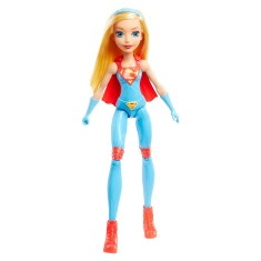 Foto Boneca DC Super Hero Girls Supergirl Treinamento Mattel