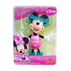 Foto Boneca Disney Minnie Fashion Com Óculos Mattel