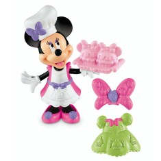 Foto Boneca Disney Minnie Hora do Cupcake Mattel