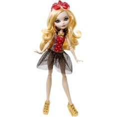 Foto Boneca Ever After High Apple White Praia Encantada Mattel