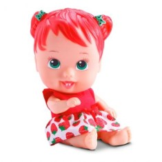 Foto Boneca Little Dolls Cores e Sabores Morango Divertoys