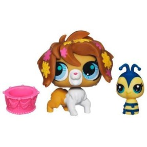 Foto Boneca Littlest Pet Shop Cachorrinho e Abelha Hasbro