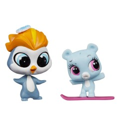 Foto Boneca Littlest Pet Shop Eliza Blue e Rad Slopington Hasbro
