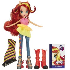 Foto Boneca My Little Pony Equestria Girls Sunset Shimmer Hasbro
