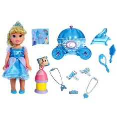 Foto Boneca Party Playset Cinderela Long Jump