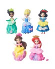 Boneca Princesas Disney Cinco mini bonecas Hasbro