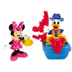 Foto Boneco Donald Minnie Disney ClubHouse Pescaria - Mattel