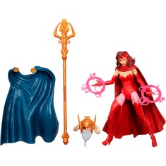 Foto Boneco Marvel Legends Scarlet Witch Infinite Series B0438/b1479 - Hasbro