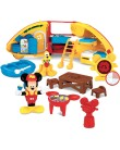 Boneco Mickey Pluto ClubHouse Camping - Mattel