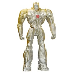 Foto Boneco Silver Knight Optimus Prime Age of Extinction A7772 - Hasbro