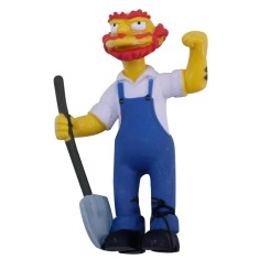 Foto Boneco Simpsons Zelador Willie - Multikids