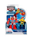 Boneco Transformers Playskool Heroes Heatwave The Fire-Bot e Kade Burns - Hasbro
