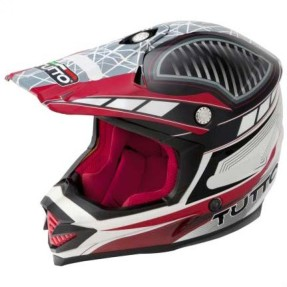 Foto Capacete Tutto Moto Cross Off-Road