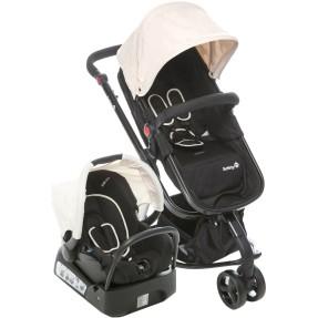 Carrinho de Bebê 3 Rodas Travel System com Bebê Conforto Safety 1st Mobi T5003TS