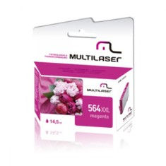 Foto Cartucho Magenta Multilaser CO566