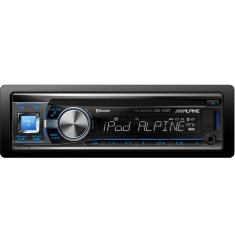 Foto CD Player Automotivo Alpine CDE-133 USB