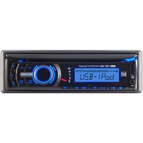 Foto CD Player Automotivo Dual XDMA 6438 USB
