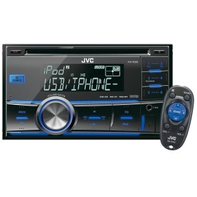 Foto CD Player Automotivo JVC KW-R500 Bluetooth USB
