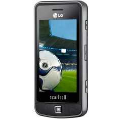 Foto Celular LG TV Phone Scarlet II GM600 3,0 MP