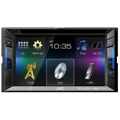 "Foto Central Multimídia Automotiva JVC 6 "" KW-V11 Touchscreen USB"