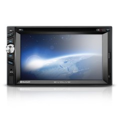 "Foto Central Multimídia Automotiva Multilaser 6 "" P3261 Touchscreen Entrada para camêra de ré"