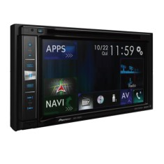 "Foto Central Multimídia Automotiva Pioneer 6 "" AVIC-F980TV USB Bluetooth"