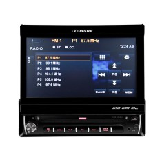 "Foto DVD Player Automotivo H-Buster 7 "" Sensor de Estacionamento HBD 9540AV Touchscreen"