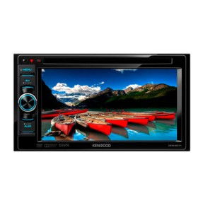 "Foto DVD Player Automotivo Kenwood 6 "" DDX2071 Touchscreen Entrada para camêra de ré"
