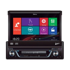 "Foto DVD Player Automotivo Leadership 7 "" 5975 Touchscreen USB"