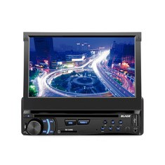 "Foto DVD Player Automotivo Multilaser 7 "" Blade P3295 Touchscreen Entrada para camêra de ré"