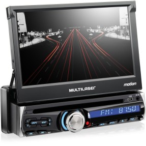 Foto DVD Player Automotivo Multilaser P3238 Touchscreen Bluetooth Entrada para camêra de ré