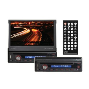 "Foto DVD Player Automotivo Phaser 7 "" ARD7200 Touchscreen USB"