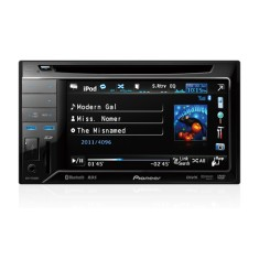 "Foto DVD Player Automotivo Pioneer 6 "" AVH-P3380BT Touchscreen USB"