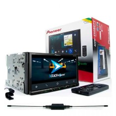"Foto DVD Player Automotivo Pioneer 7 "" AVH-Z5080TV Bluetooth TV"