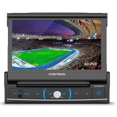 "Foto DVD Player Automotivo Pósitron 7 "" SP 6720 DTV Touchscreen Bluetooth"