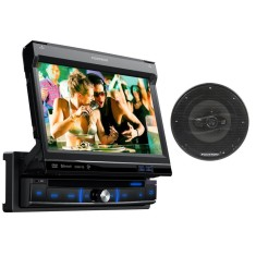 "Foto DVD Player Automotivo Pósitron 7 "" SP6861 Touchscreen Bluetooth"
