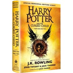 Foto Harry Potter And The Cursed Child - Parts 1 & 2 - Special Rehearsal Edition - J. K. Rowling - 9781338099133