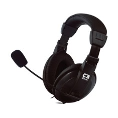 Foto Headset C3 Tech com Microfone Voicer Confort